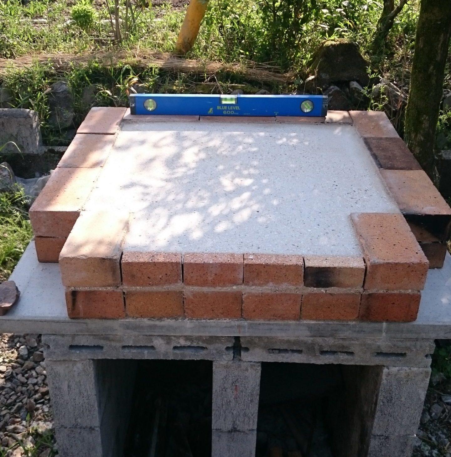 焼き床の表面を研磨
